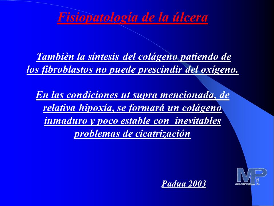 Fisiopatología de la úlcera