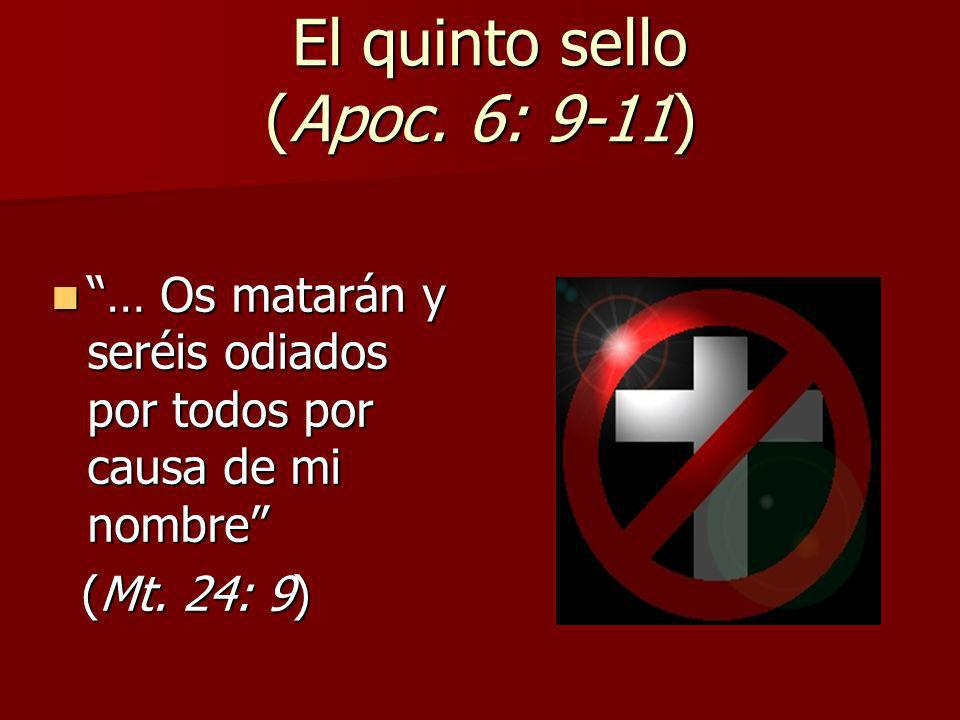 El quinto sello (Apoc. 6: 9-11)