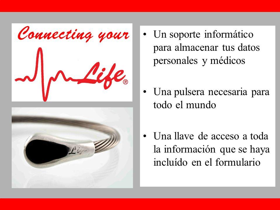 Un soporte informático para almacenar tus datos personales y médicos