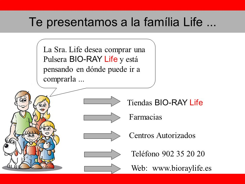 Te presentamos a la família Life ...