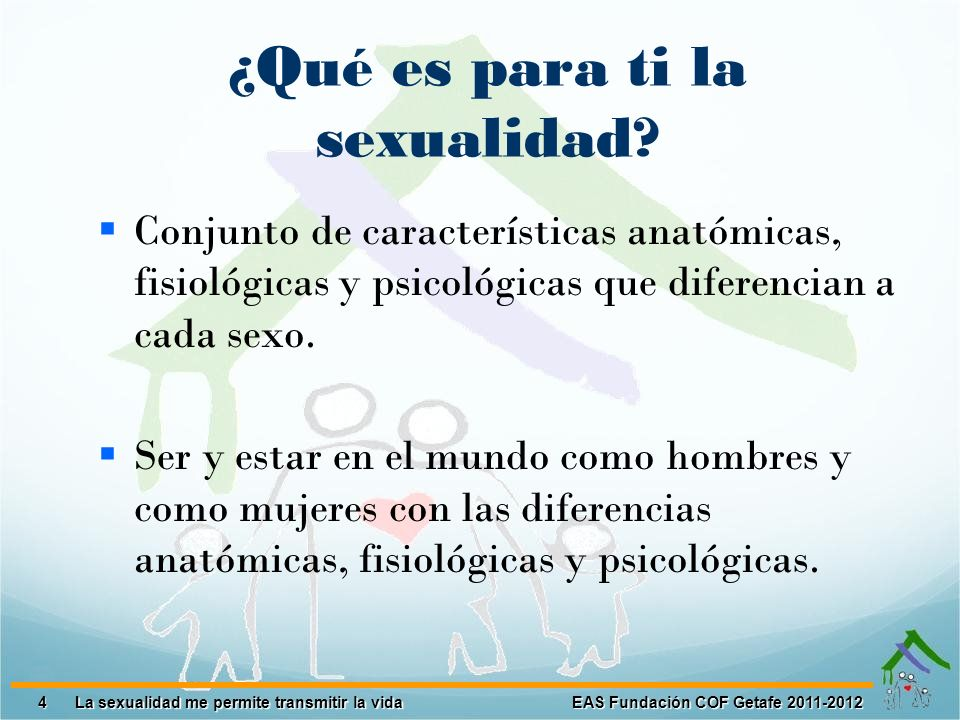 ¿Qué es para ti la sexualidad