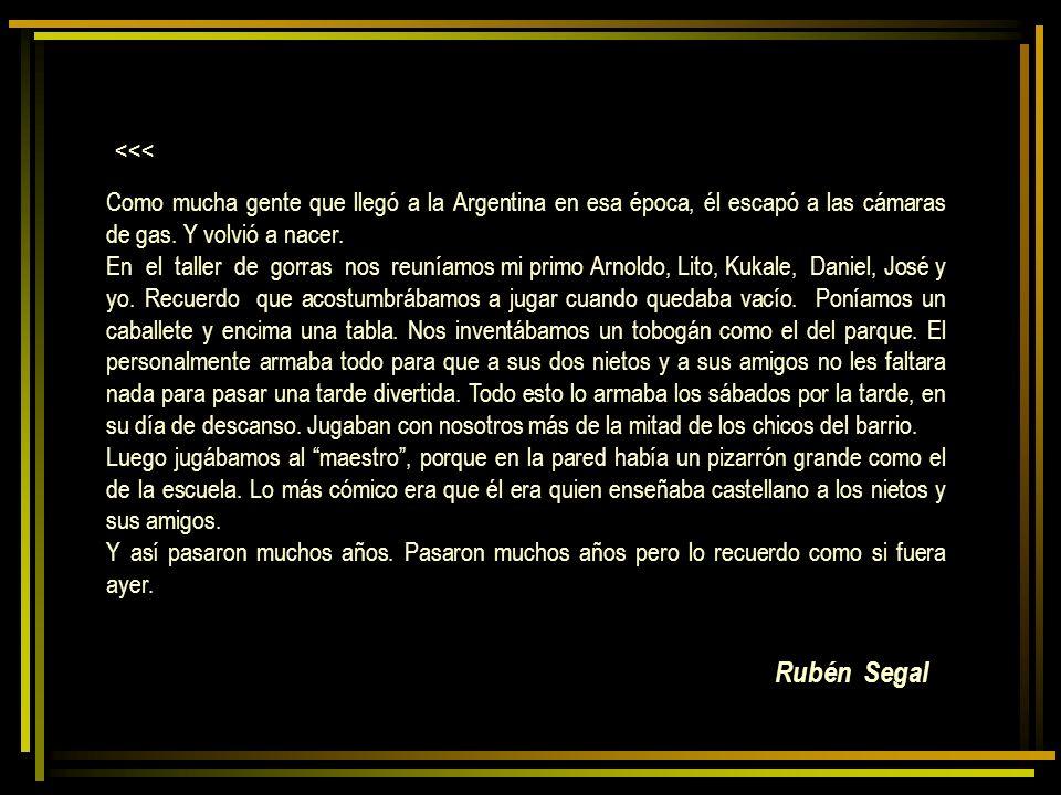 Rubén Segal <<<