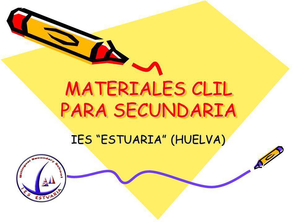 MATERIALES CLIL PARA SECUNDARIA