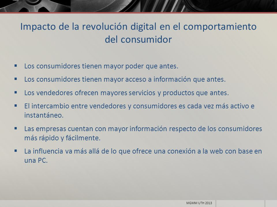 Impacto de la revolución digital en el comportamiento del consumidor