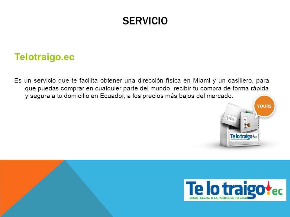 SERVICIO Telotraigo.ec