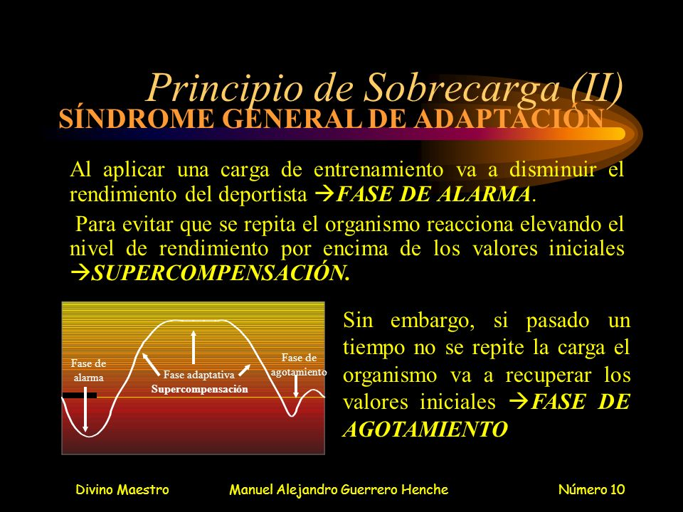 Principio de Sobrecarga (II)