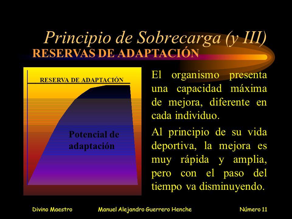 Principio de Sobrecarga (y III)