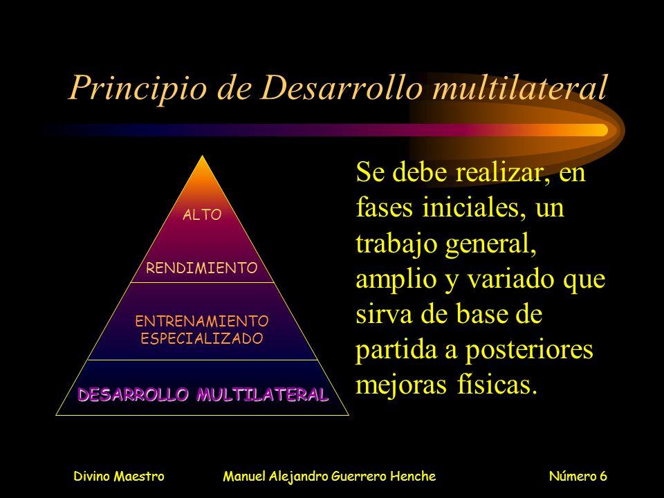 Principio de Desarrollo multilateral