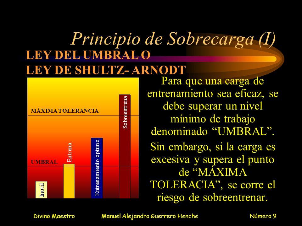 Principio de Sobrecarga (I)