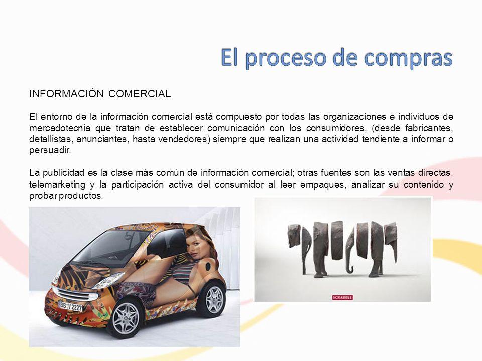 El proceso de compras INFORMACIÓN COMERCIAL