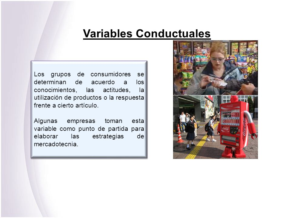 Variables Conductuales
