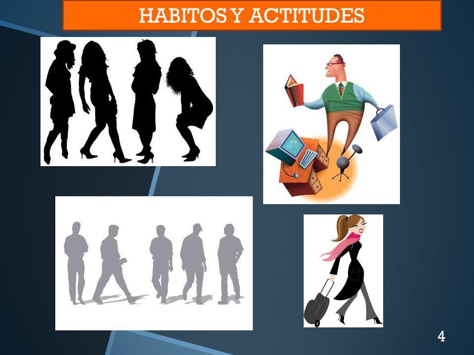 HABITOS Y ACTITUDES