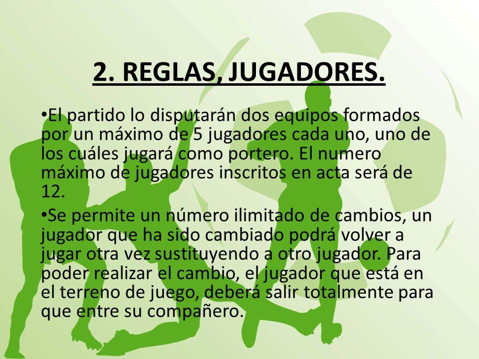2. REGLAS, JUGADORES.