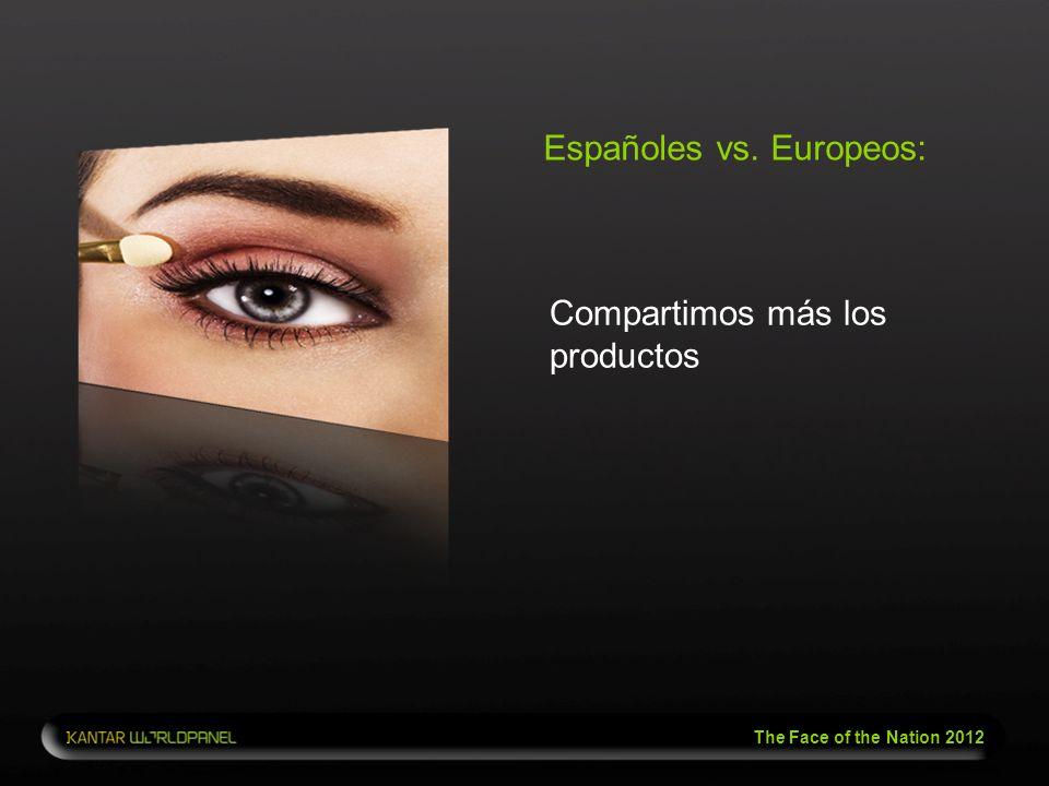 Españoles vs. Europeos:
