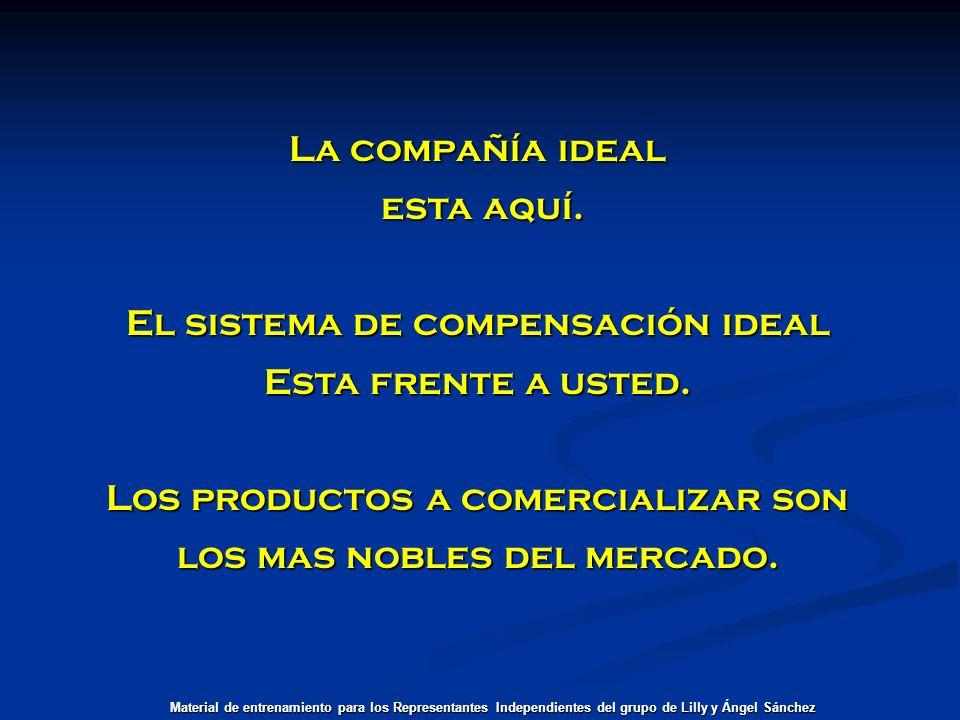 El sistema de compensación ideal Esta frente a usted.