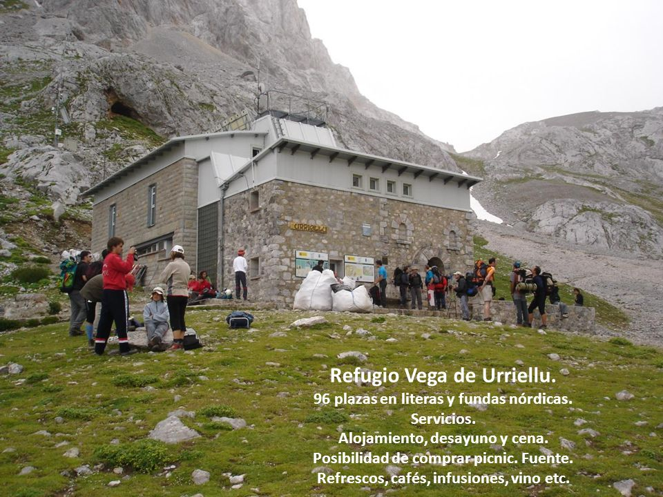 Refugio Vega de Urriellu.