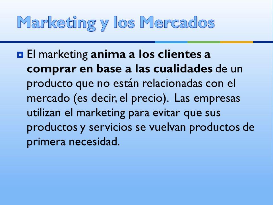 Marketing y los Mercados