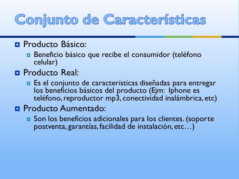 Conjunto de Características