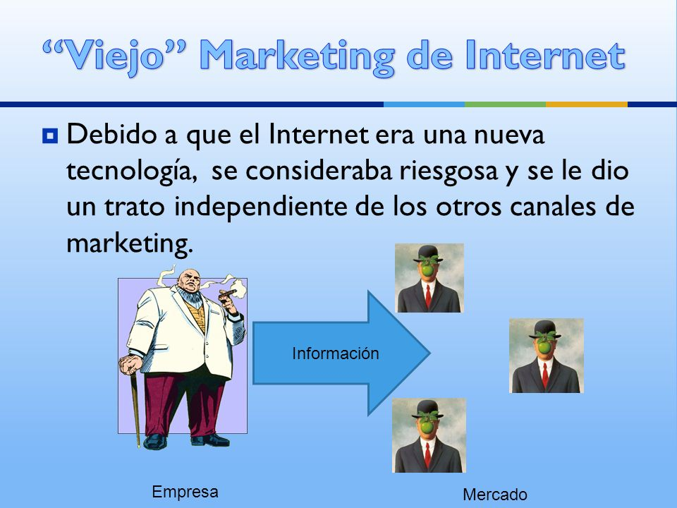 Viejo Marketing de Internet