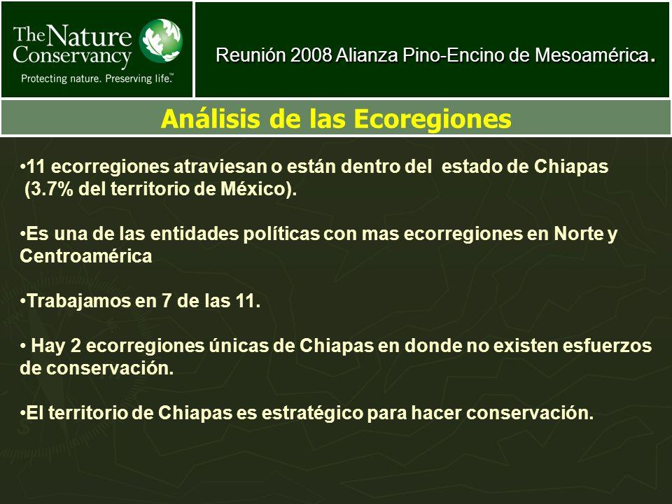 Análisis de las Ecoregiones