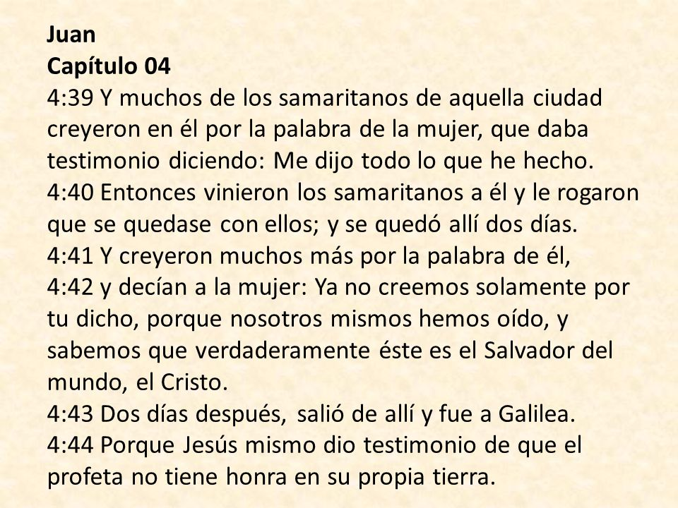 Juan Capítulo 04.