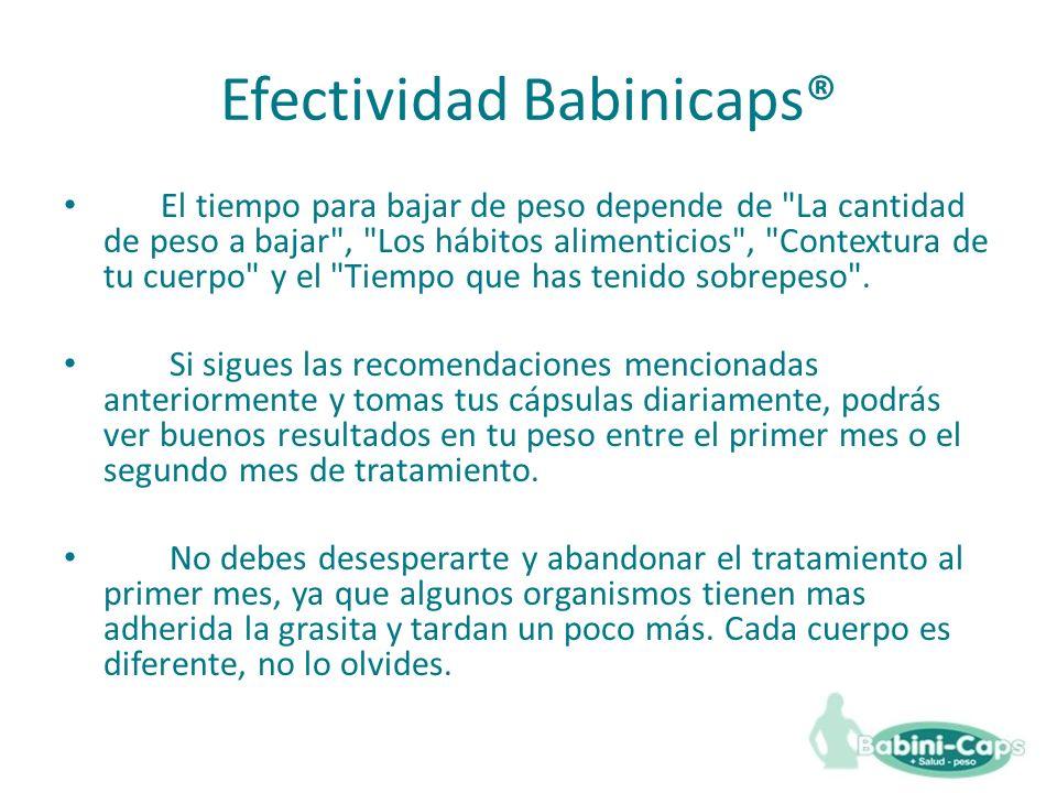 Efectividad Babinicaps®