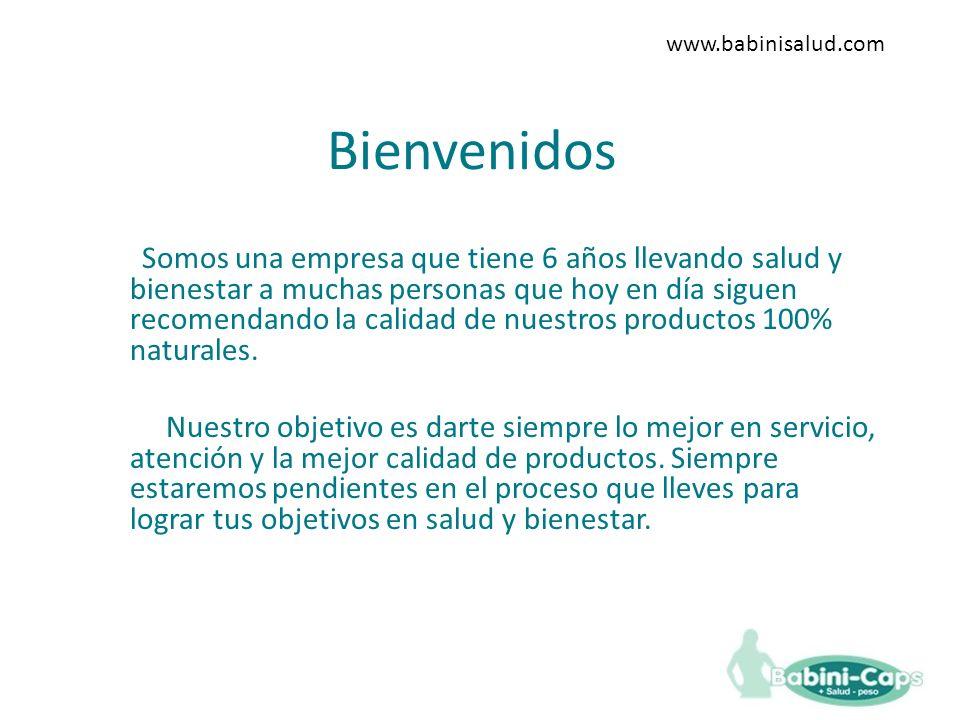 www.babinisalud.com Bienvenidos.