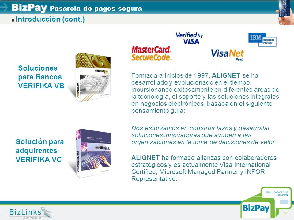 Soluciones para Bancos VERIFIKA VB