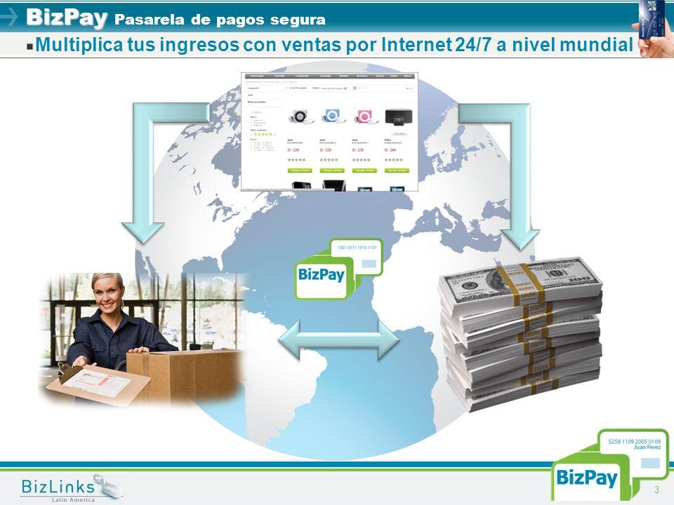 Multiplica tus ingresos con ventas por Internet 24/7 a nivel mundial