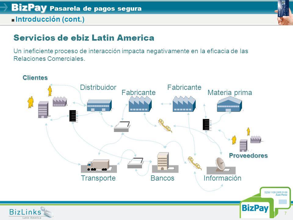 Servicios de ebiz Latin America