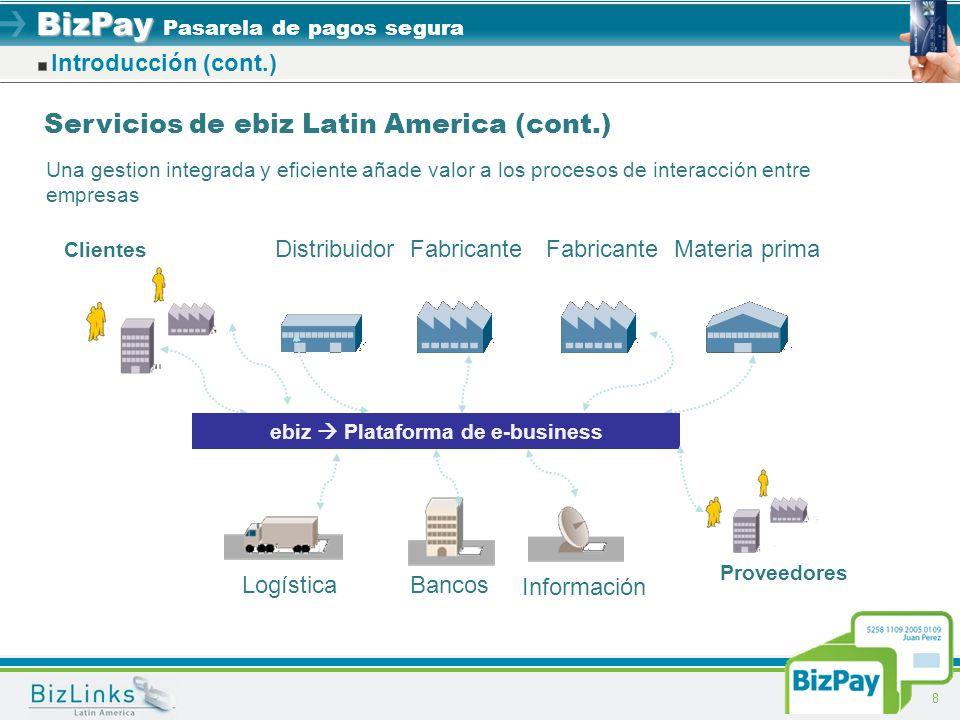 ebiz  Plataforma de e-business