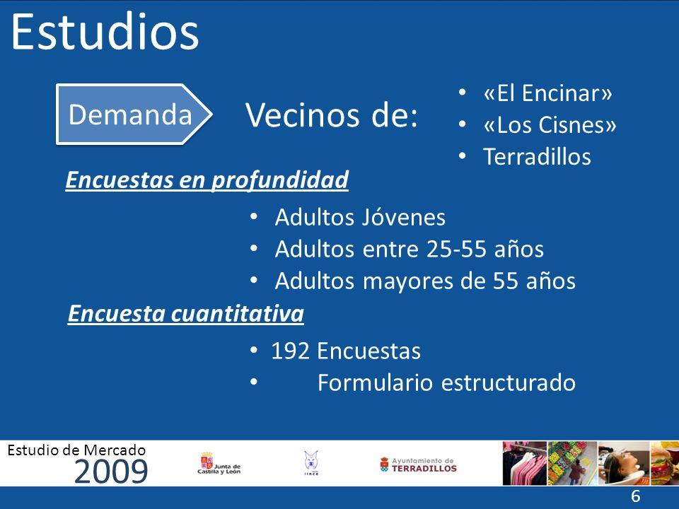 Estudios Vecinos de: 2009 Demanda «El Encinar» «Los Cisnes»