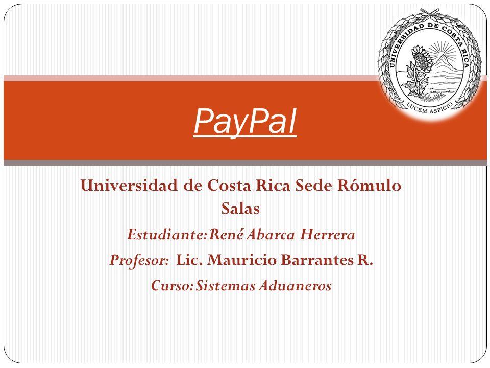 Estudiante: René Abarca Herrera