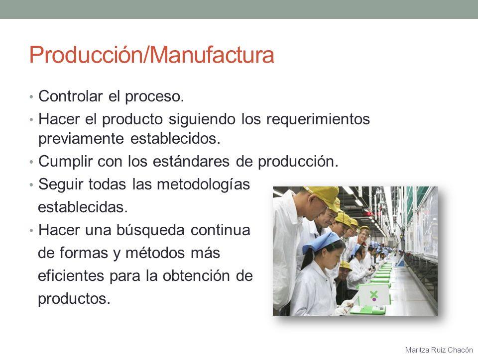 Producción/Manufactura