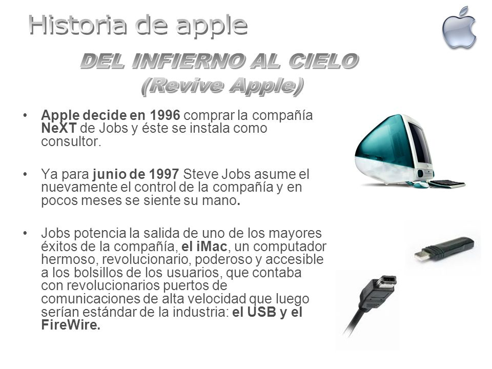 Historia de apple DEL INFIERNO AL CIELO (Revive Apple)