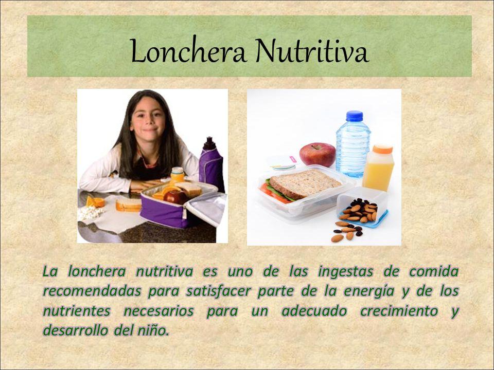 Lonchera Nutritiva