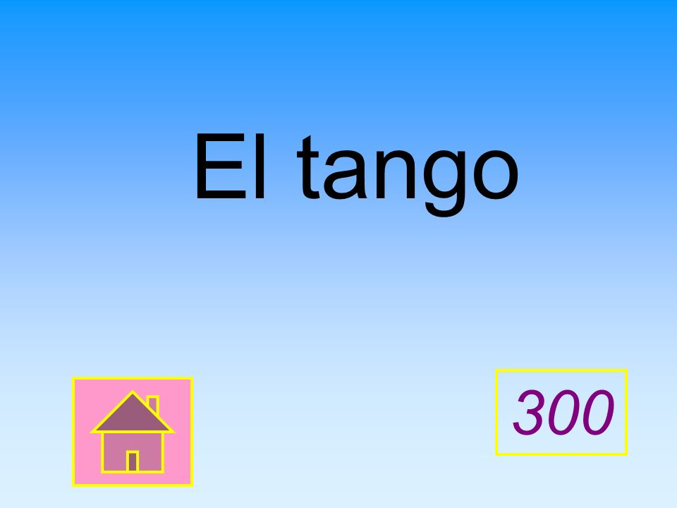 El tango 300