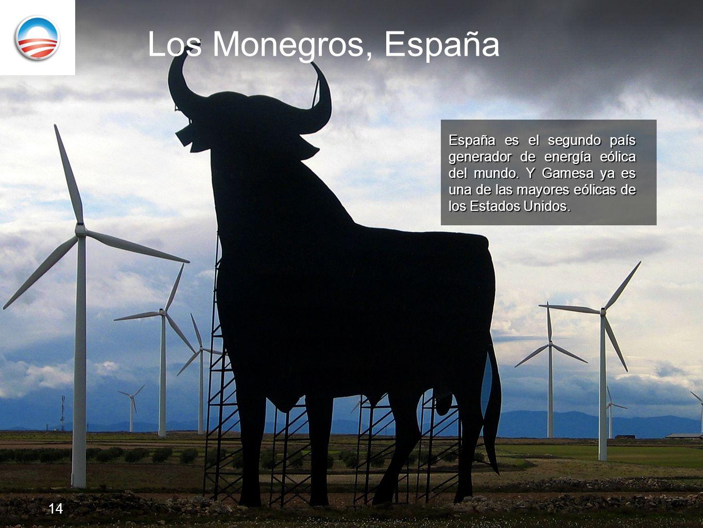 Los Monegros, España