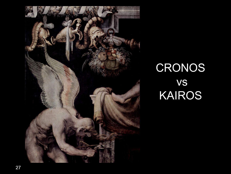 CRONOS vs KAIROS 27