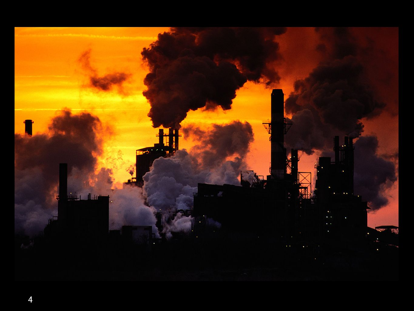 A Paper Mill (one of the largest polluters)