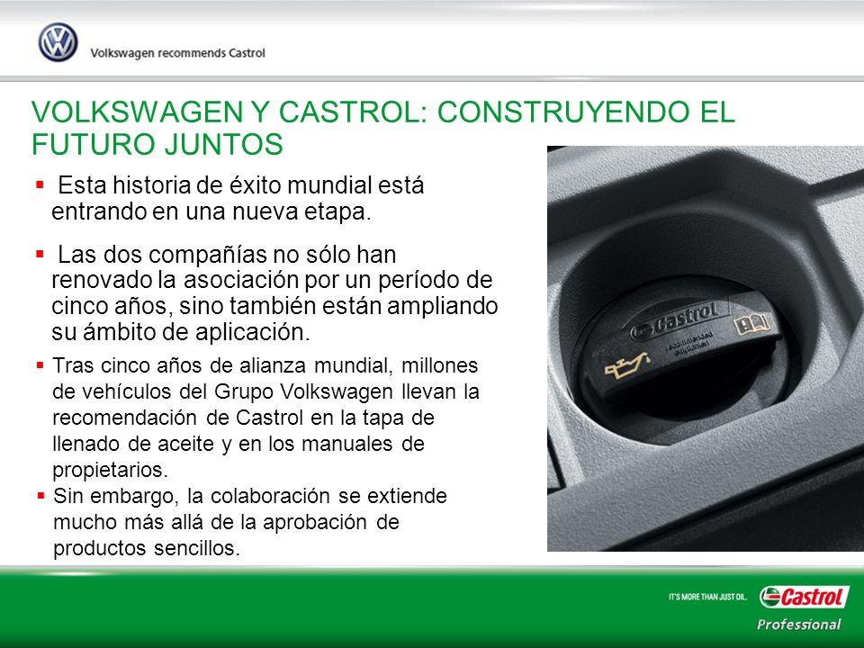VOLKSWAGEN Y CASTROL: CONSTRUYENDO EL FUTURO JUNTOS