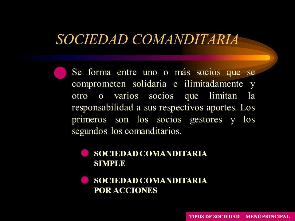 SOCIEDAD COMANDITARIA