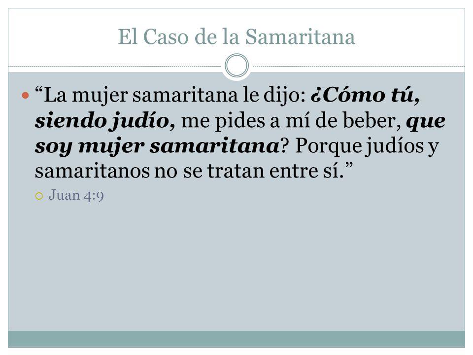 El Caso de la Samaritana