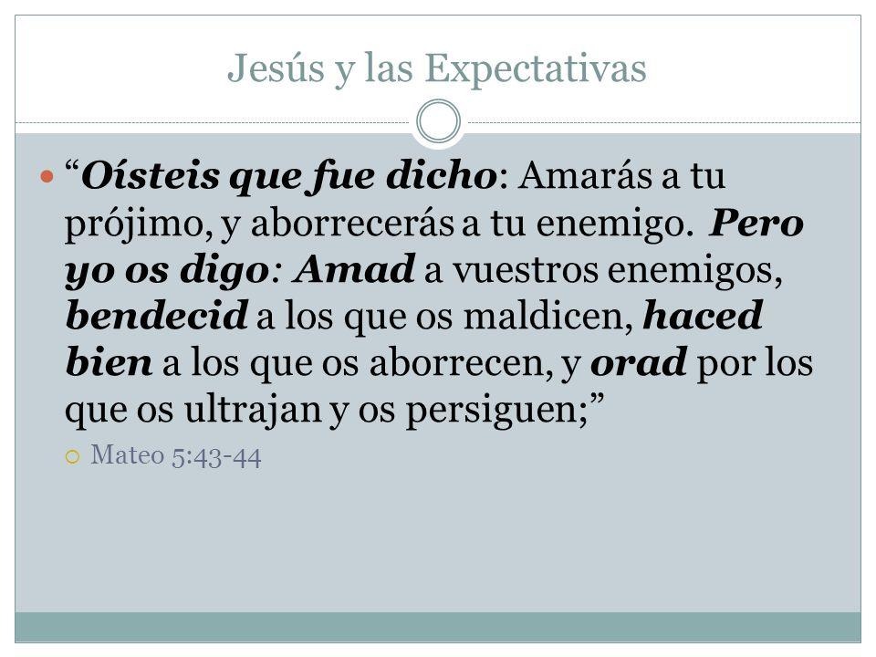 Jesús y las Expectativas