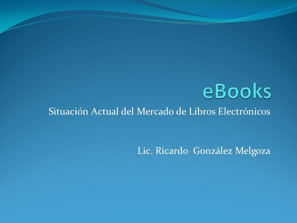 eBooks Situación Actual del Mercado de Libros Electrónicos