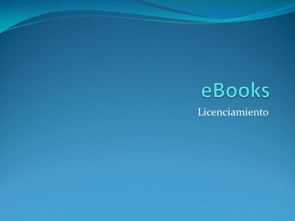 eBooks Licenciamiento