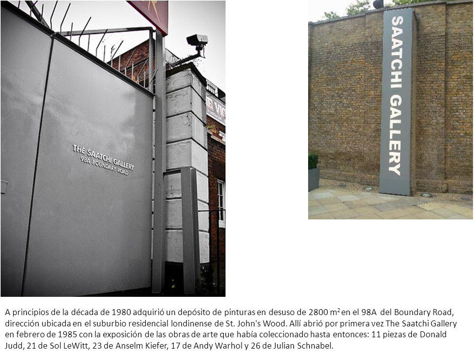 A principios de la década de 1980 adquirió un depósito de pinturas en desuso de 2800 m2 en el 98A del Boundary Road, dirección ubicada en el suburbio residencial londinense de St.