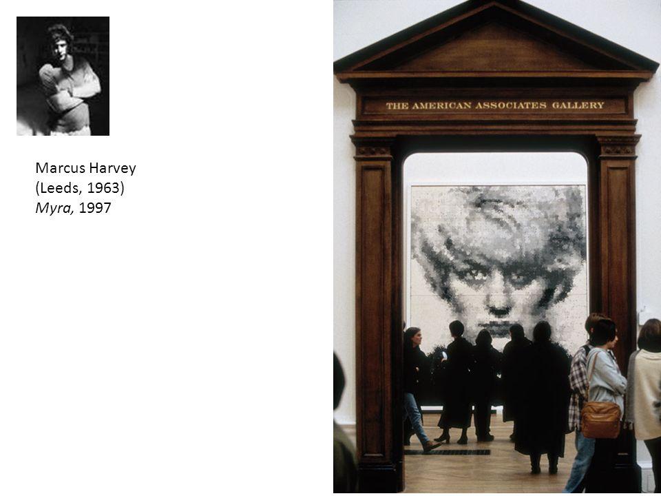 Marcus Harvey (Leeds, 1963) Myra, 1997