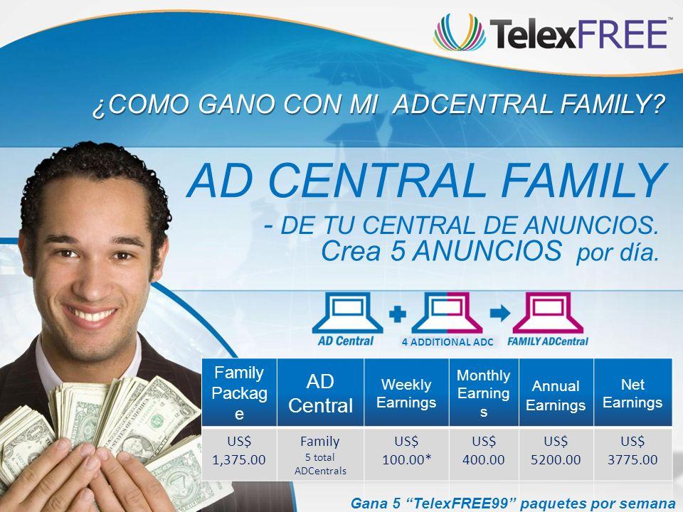 AD CENTRAL FAMILY - DE TU CENTRAL DE ANUNCIOS.