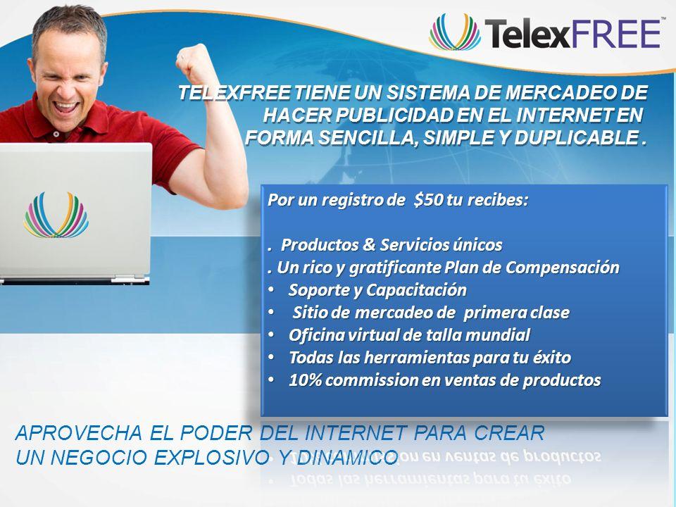 TELEXFREE TIENE UN SISTEMA DE MERCADEO DE